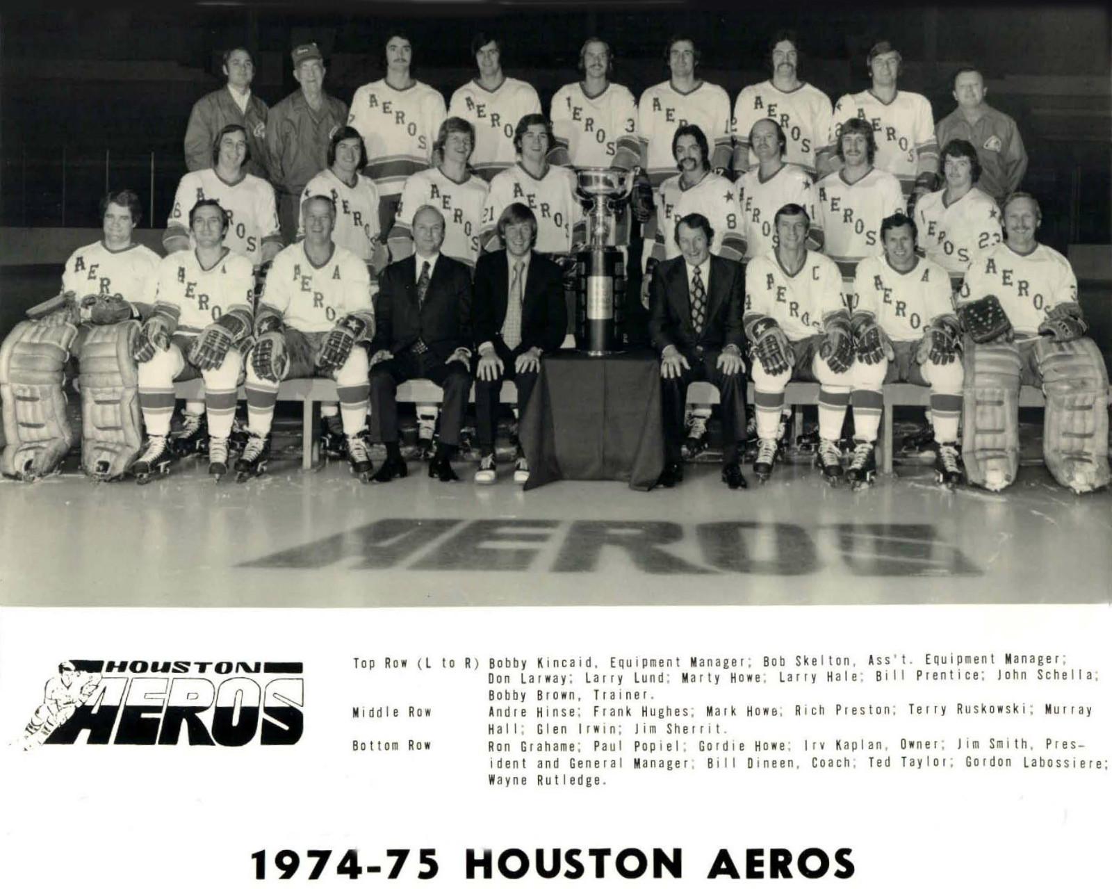 1974–75 Houston Aeros season