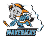 logo as Missouri Mavericks