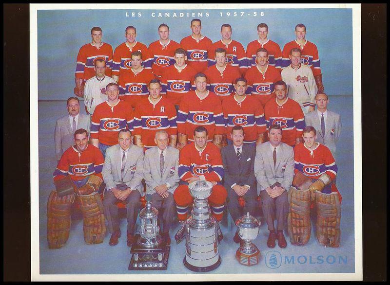 1957–58 Montreal Canadiens season