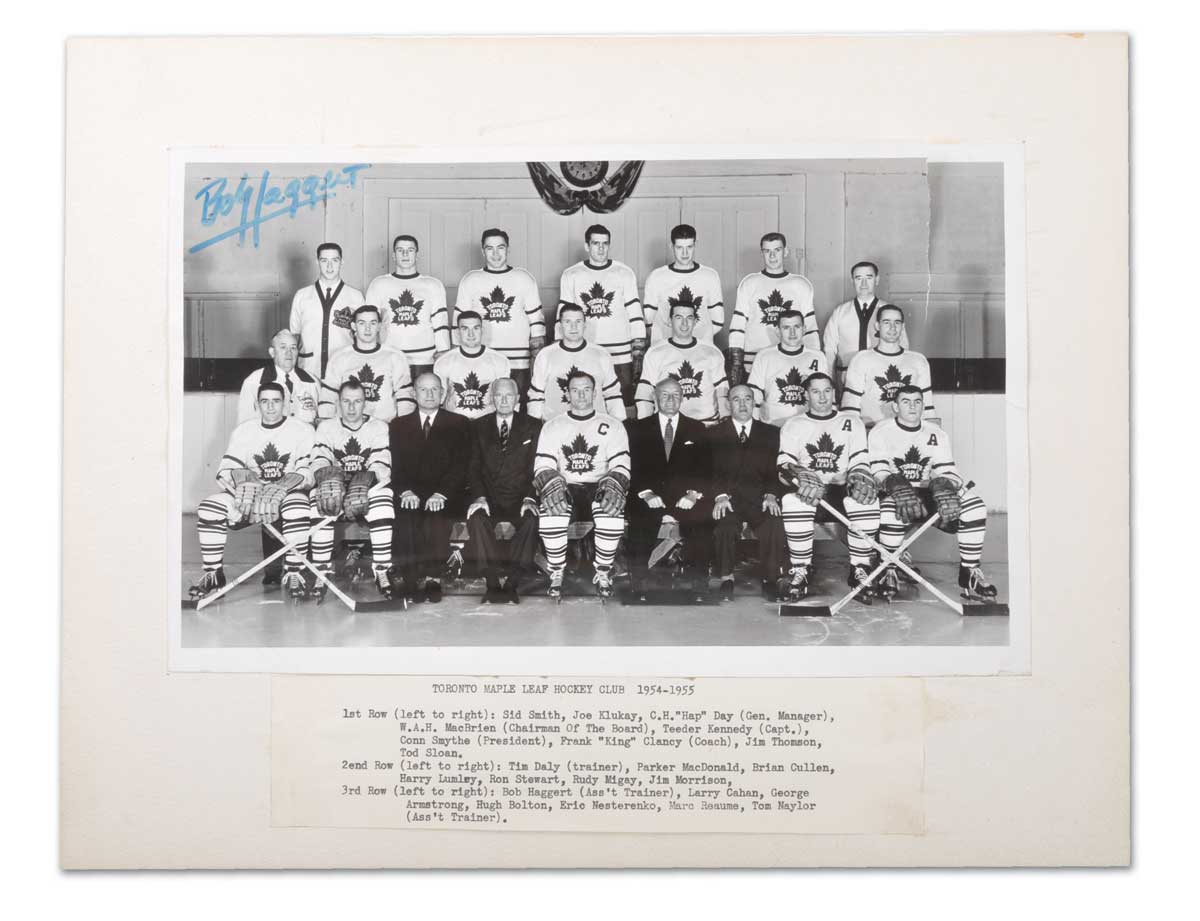 1954–55 Toronto Maple Leafs season