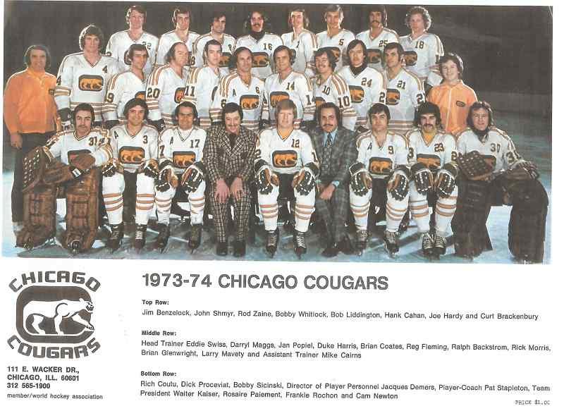 1973–74 Chicago Cougars season