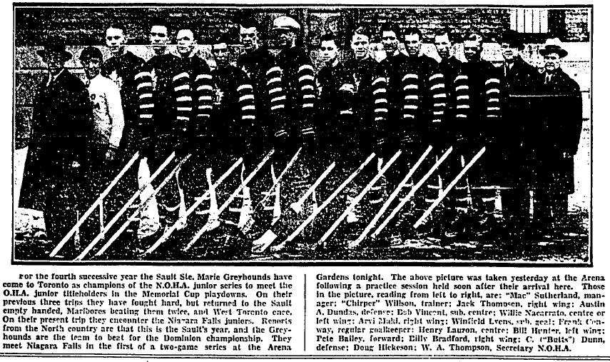 1930-31 Northern Ontario Junior Playoffs
