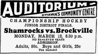 1933-34 Ottawa District Junior Playoffs