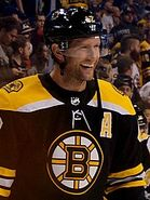 David Backes Boston Bruins 2017