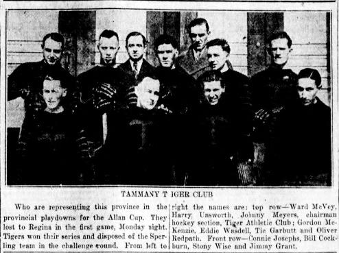 1925-26 Winnipeg and District Intermediate Hockey League Season