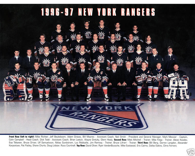 1996–97 New York Rangers season