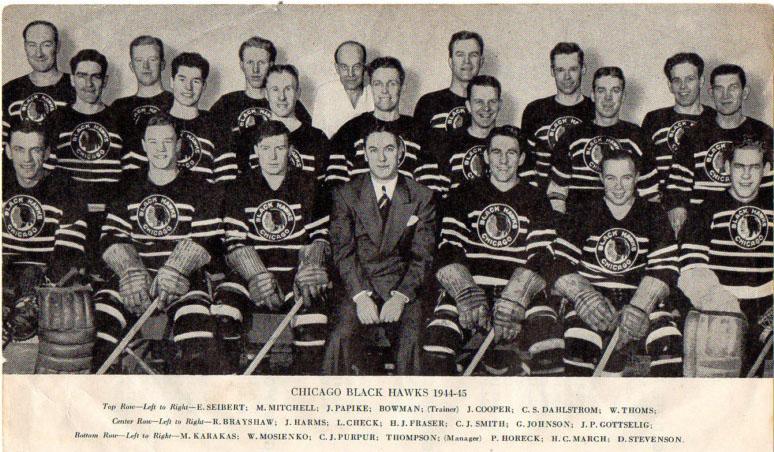 1944–45 Chicago Black Hawks season