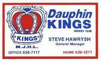 Business Card - Dauphin Kings