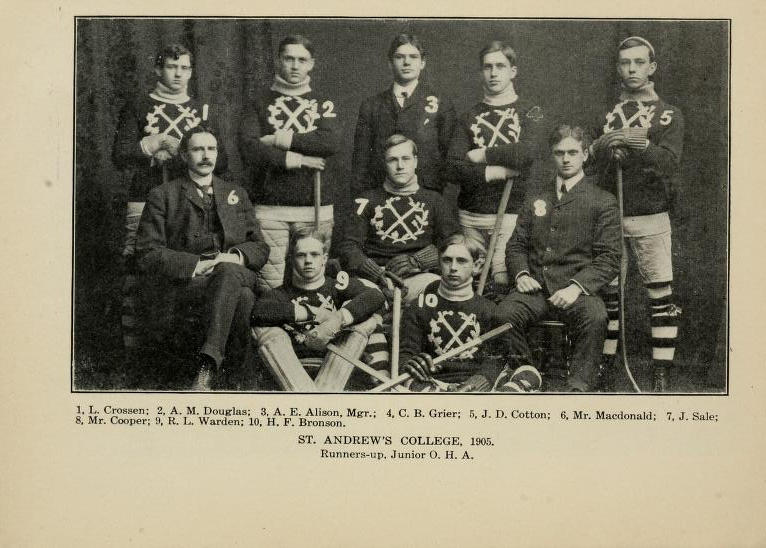 1904-05 OHA Junior Season