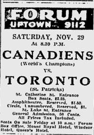 1924–25 Montreal Canadiens season