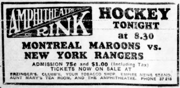1934–35 New York Rangers season