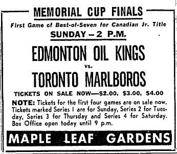 1963-64 Memorial Cup Final