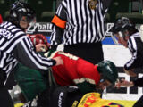 Fighting in ice hockey