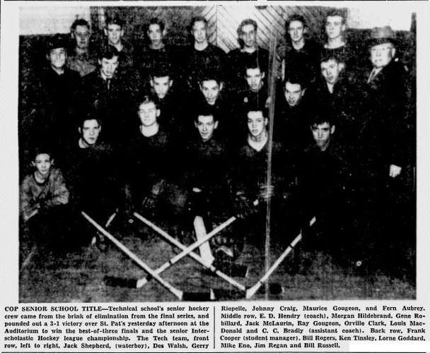 1946-47 Ottawa IS Season