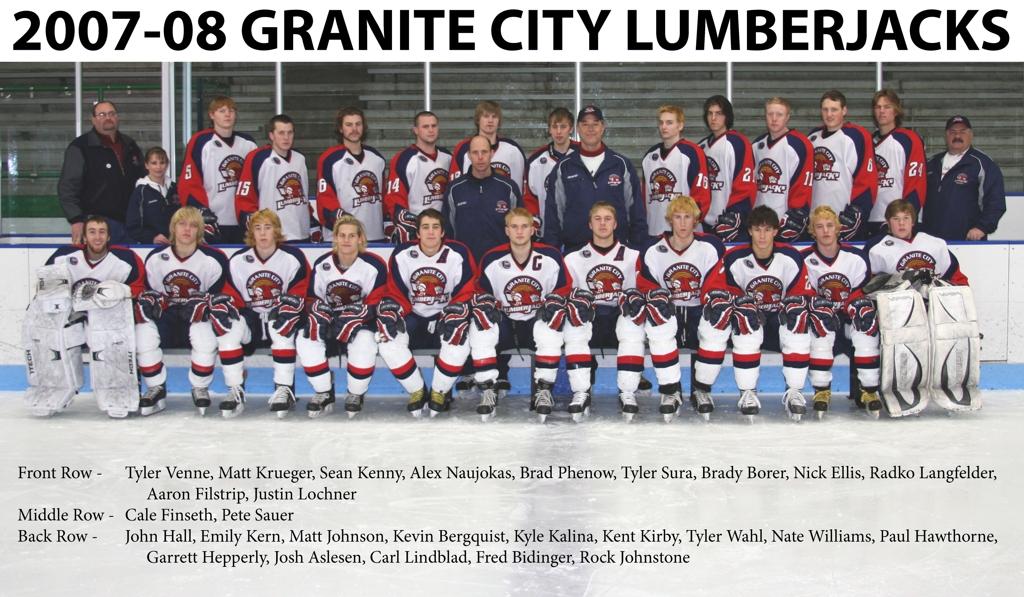 2007-08 MinJHL Season