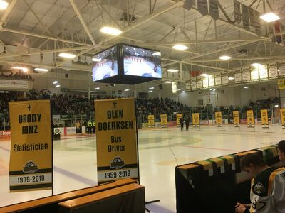 Humboldt Broncos post game retirement ceremony.jpg