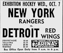 1964–65 New York Rangers season