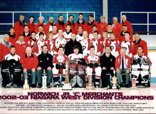 2002-03 NDJCHL Season