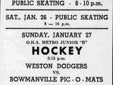 MetJHL Standings 1962-63