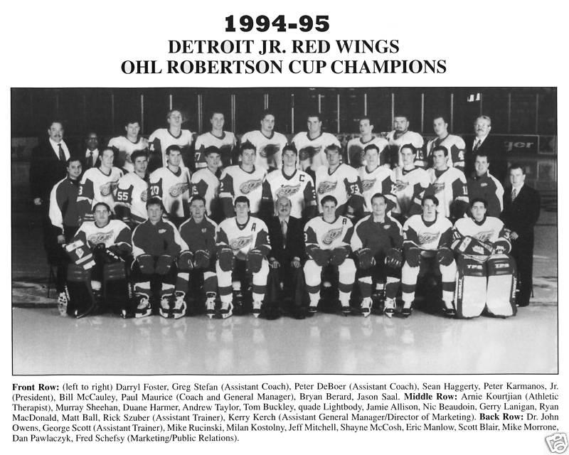 1994-95 OHL Season