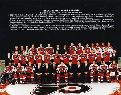 1995–96 Philadelphia Flyers season