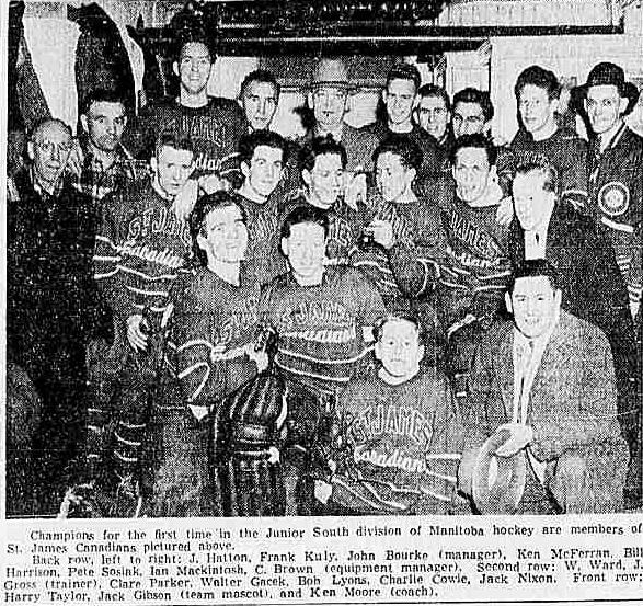 1943-44 MJHL Season