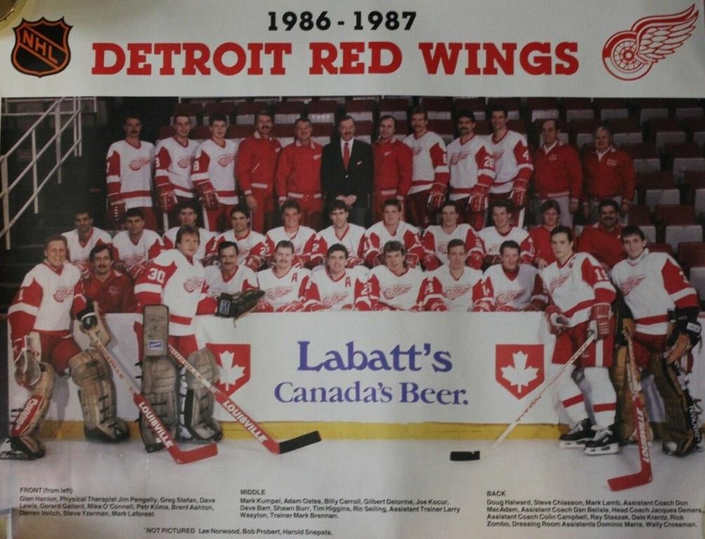 1986–87 Detroit Red Wings season