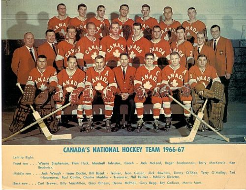 1966-67 Canadian National Team