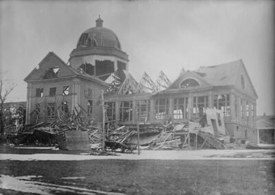 building after Halifax Explosion