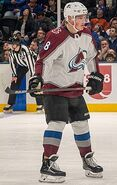 Cale Makar playing with the Avalanche in 2020 (Quintin Soloviev)