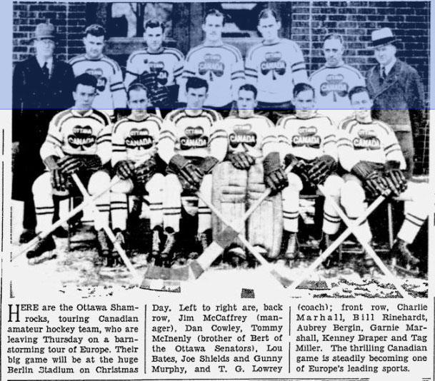1933-34 Ottawa Shamrocks