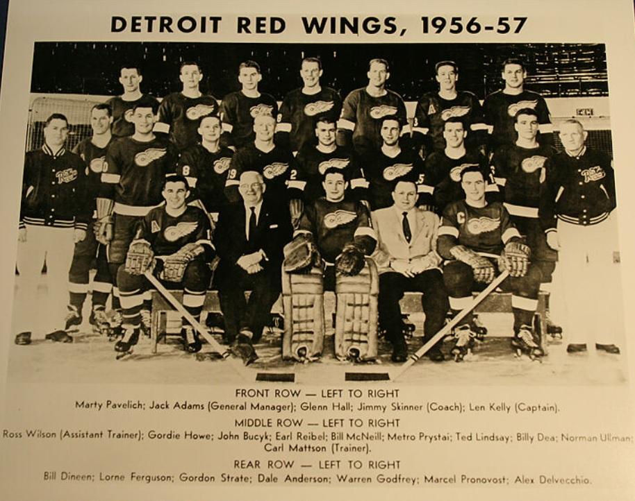 1956–57 Detroit Red Wings season