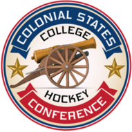 Colonial States College Hockey Conference (CSCHC) logo