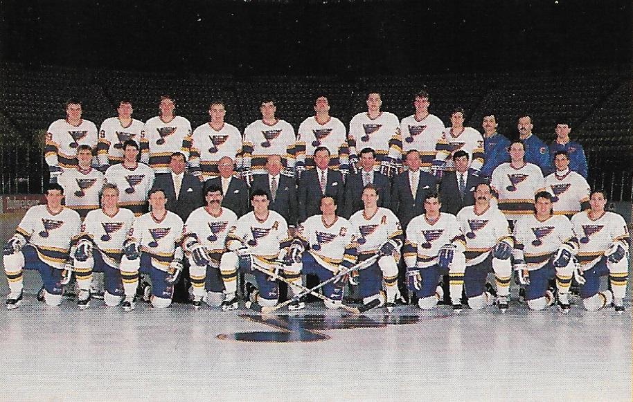 1990–91 St. Louis Blues season