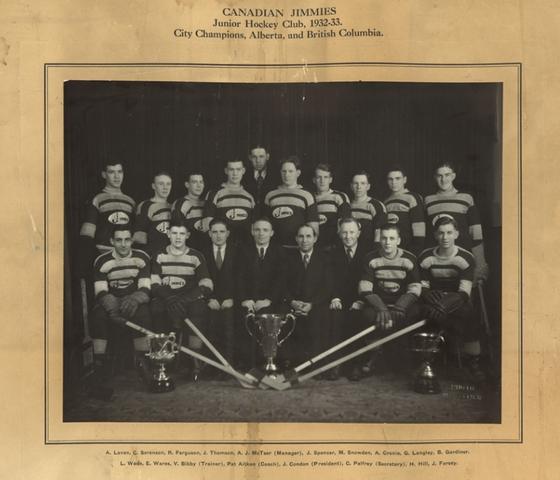 1932-33 Alberta Junior Playoffs