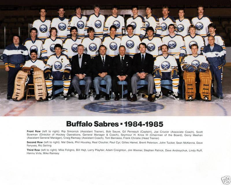1984–85 Buffalo Sabres season