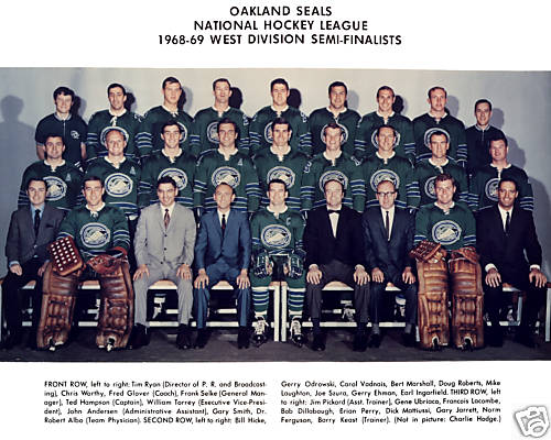 1968–69 Oakland Seals season