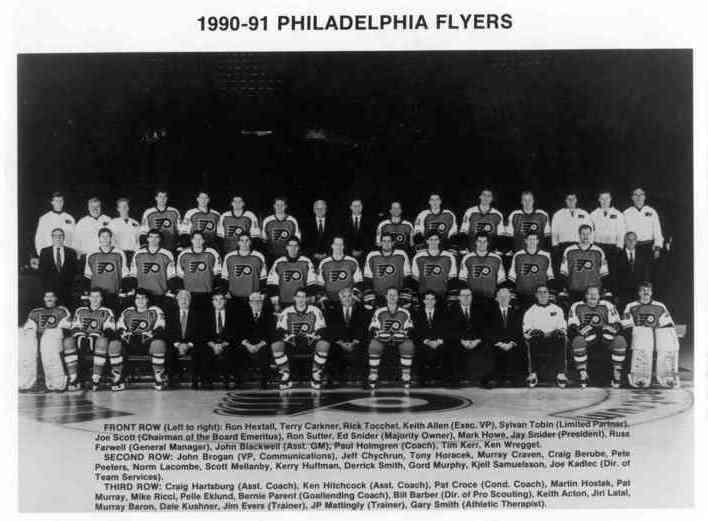 1990–91 Philadelphia Flyers season