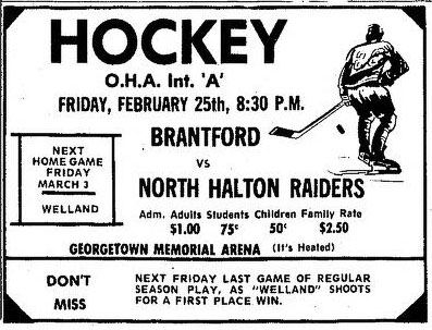 1971-72 OHA Intermediate A Season
