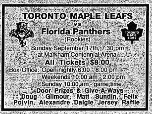 1995–96 Florida Panthers season