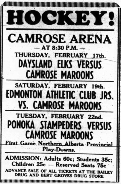 1948-49 Alberta Intermediate Playoffs