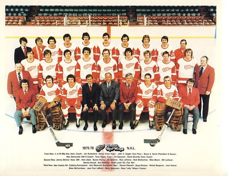 1975–76 Detroit Red Wings season