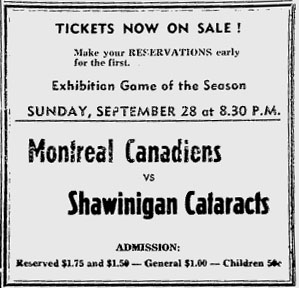 1952-53 Montreal Canadiens season