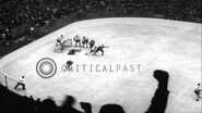 Blackhawks defeat Americans in an ice hockey game, Chicago, Illinois