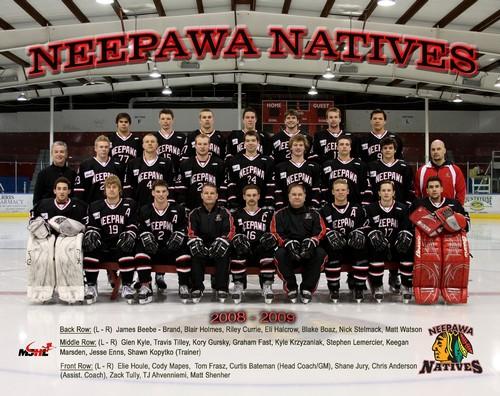 2008-09 Neepawa Natives season