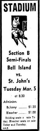1956-57 Newfoundland Senior Season