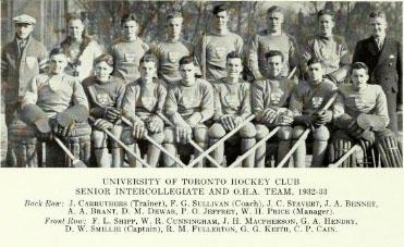 1932-33 OHA Senior Season