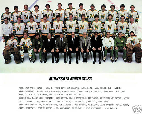 1980–81 Minnesota North Stars season