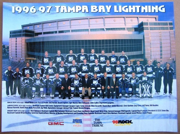 1996–97 Tampa Bay Lightning season