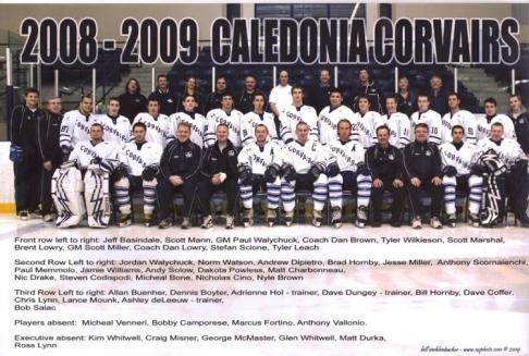 2008-09 NDJCHL Season